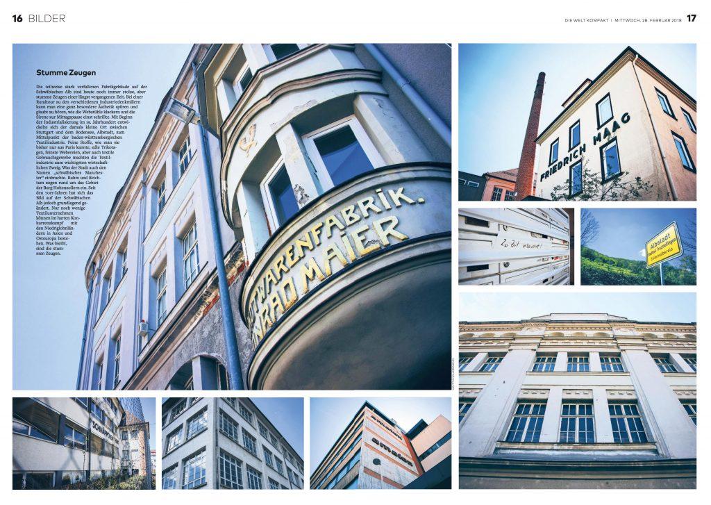 Albstadt Welt kompakt Industriearchitektur Textilindustrie Schwäbische Alb