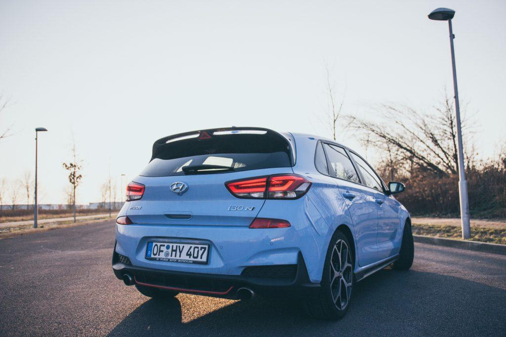 Hyundai i30 N Performance von hinten